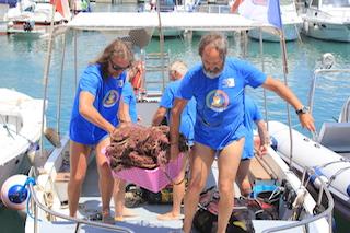 Dal Parco di Punta Campanella per pulire il mare del Cilento – foto e video –