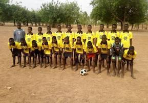 Il Sorrento adotta una squadra di baby calciatori del Burkina Faso