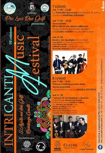 A Sant'Agata sui due Golfi l'Intricanti music festival