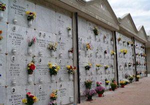 Al via la gara per le nicchie del cimitero di Piano di Sorrento