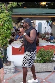 Michael Jordan in vacanza tra Positano e Capri