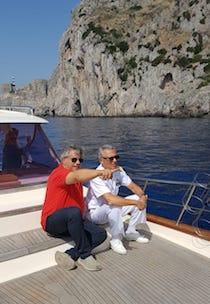 Il comandante generale della Guardia Costiera visita Punta Campanella