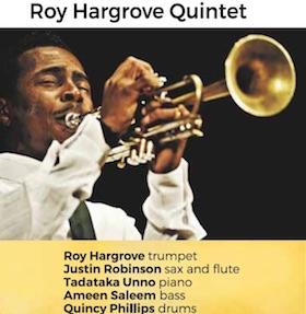 A Villa Fiorentino concerto del Roy Hargrove Quintet