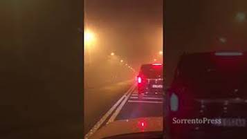 Smog nella galleria Seiano-Pozzano, aerazione in tilt – video –