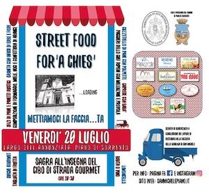 A Piano di Sorrento street food organizzato dalla parrocchia di San Michele