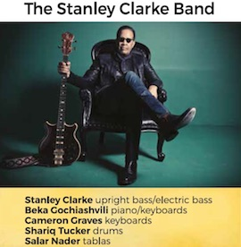A Villa Fiorentino al via il Lemon Jazz con The Stanley Clarke Band