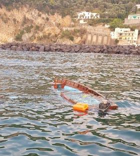 Collisione tra imbarcazioni a Vico Equense, ferita una ragazza di Sant'Agnello