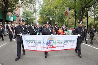 A Sorrento i vertici dell'associazione dei poliziotti italoamericani di New York