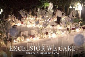 All'Excelsior Vittoria cena di beneficenza per i bambini malati