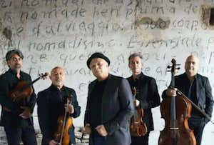 Gragnaniello ed I Solis String presentano a Sorrento il nuovo progetto