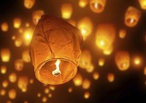 Ad Anacapri scatta il divieto di lancio delle lanterne cinesi