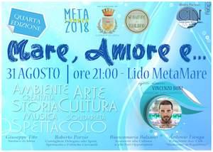 """A Meta torna """"Mare, amore e…"""""""