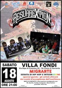 A Villa Fondi MigrArte, serata di musica e integrazione