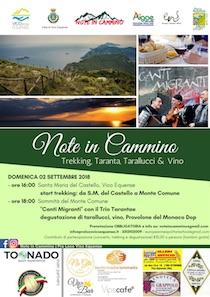 Trekking, musica e prodotti tipici sulle colline di Vico Equense