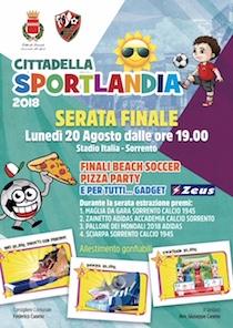 Al Campo Italia la serata finale di Sportlandia 2018