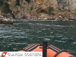 La Guardia Costiera salva turisti in difficoltà in penisola sorrentina – foto –
