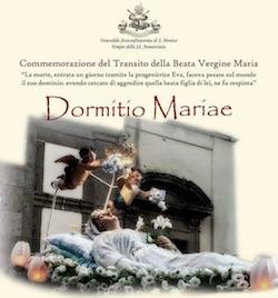A Sorrento si celebra la Vergine Dormiente