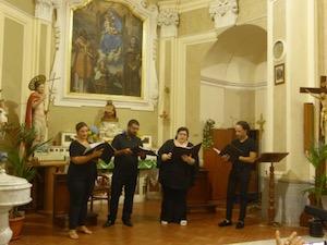 Grande successo a Tramonti per il Vox Sirenis Ensemble di Meta