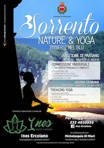 A Sorrento due appuntamenti con yoga e natura