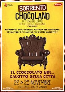 A Sorrento nuovo appuntamento con Chocoland fiera del cioccolato