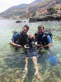 A Marina di Puolo il primo corso sub per disabili – video –