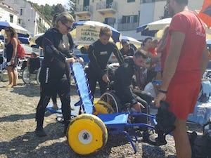 Regione Campania, ok ai contributi per l'accesso alle spiagge per disabili