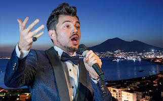 A Villa Fiorentino tributo a Caruso del tenore Giuseppe Gambi