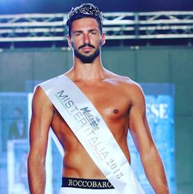 Vico Equense premia Nicola Savarese Mister Italia 2018
