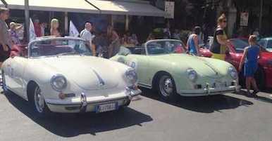La Porsche festeggia a Sorrento i suoi 70 anni