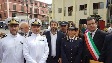 Questa mattina la cerimonia per il piazzale Giancarlo Siani a Vico Equense