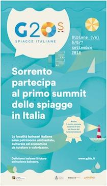 Sorrento al G20 delle località balneari italiane