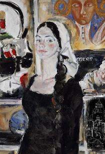 A Villa Fiorentino la mostra dei dipinti di Yuri Kalyuta