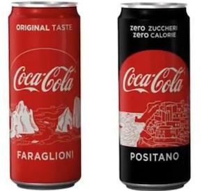 La Coca Cola celebra le bellezze della Campania