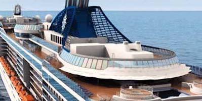 Quattro nuove navi per Msc, più piccole ma al top del lusso