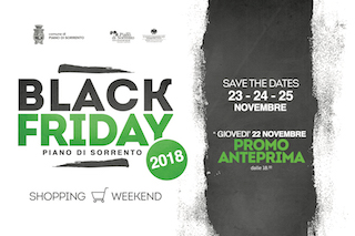 A Piano di Sorrento un Black Friday che dura 4 giorni