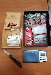 Piano di Sorrento, 22enne incensurato arrestato per droga – foto –