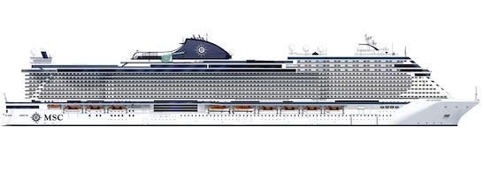 Fincantieri avvia la costruzione della nuova ammiraglia Msc