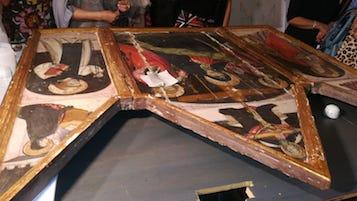 Le Amiche del Museo Correale sponsor del restauro di una tavola del '400
