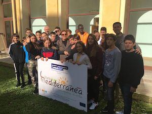Studenti di Sorrento a lezione di Dieta Mediterranea