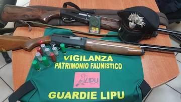 Bracconaggio, blitz di carabinieri forestali e ambientalisti