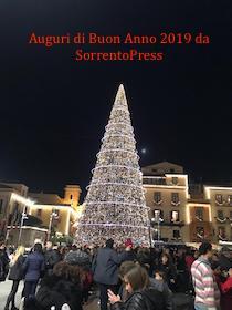 Auguri di Buon Anno da SorrentoPress