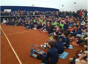 Oltre 500 giovani tennisti hanno partecipato al Capri Watch Day