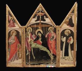 """Completato il restauro de """"La Pietà"""" del Museo Correale di Sorrento"""