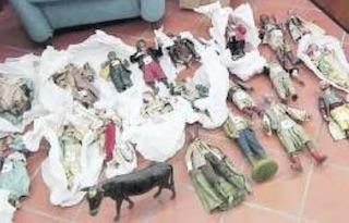 """Tornano a """"casa"""" 34 pastori rubati dalla chiesa di Sant'Agnello"""