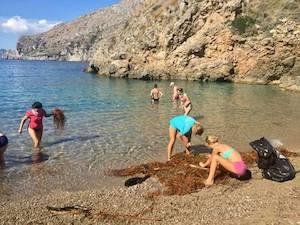 Si conclude l'esperienza dell'Erasmus del mare a Punta Campanella