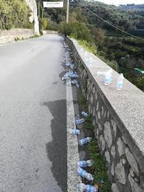 rifiuti-maratona-sorrento-positano