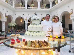 I dolci di Sal De Riso per il matrimonio dei principi del Qatar