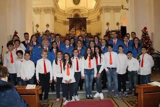 Note di Natale con la Banda di Massa Lubrense nella chiesa del Rosario di Sorrento