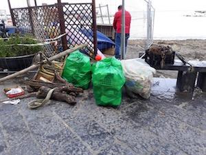 I sub di Torre del Greco ripuliscono il mare di Sorrento