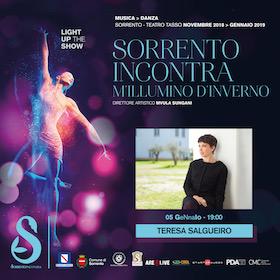 A Sorrento concerto della regina del fado Teresa Salgueiro